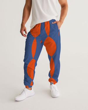 Men's Twisted Orange Track Pants