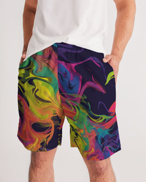 Men's Smoke in Color Jogger Shorts