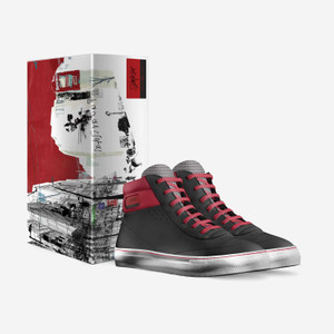 Men's Sidney Hi-Top Italian Leather Sneakers