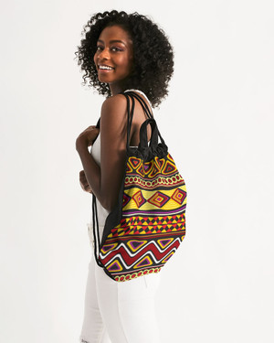 Ghana Canvas Drawstring Bag