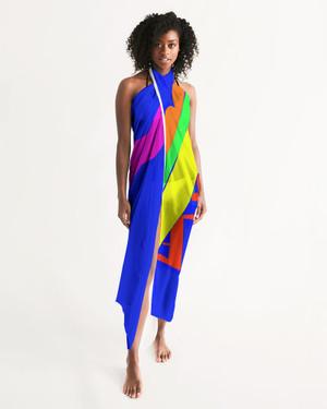 Blue sea Swim Suit Cover Up