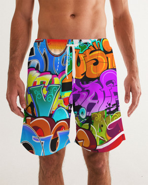 Grafitti 2 Swim Trunk