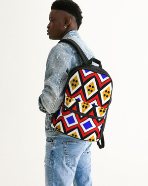 Buttons Small Canvas Backpack