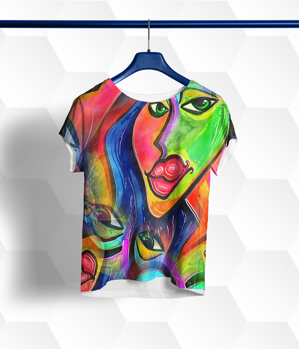 Women's Picasso Reimagined Short-Sleeve Tee