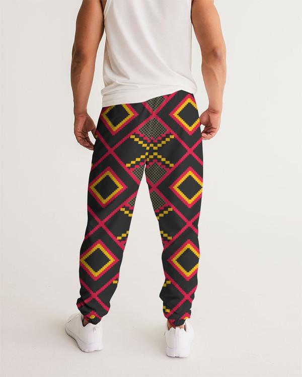 Men's Kente Diamonds Track Pants