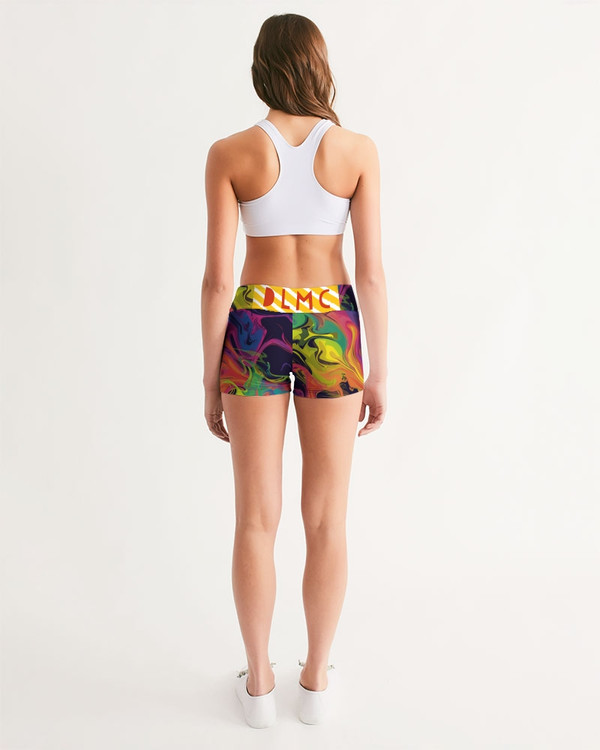 Smoke in Color Mid-Rise Boy Shorts