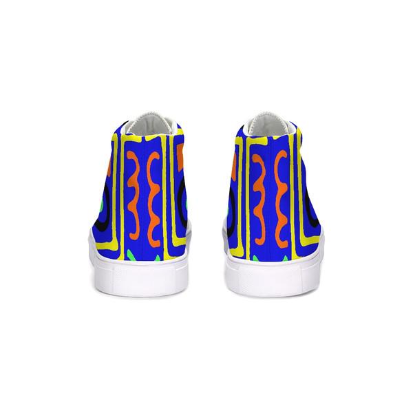 Maya Blue Hi-Top Unisex Sneakers