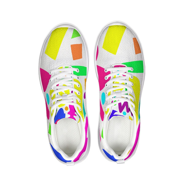 Color Pop Unisex Athletic Running  Sneakers