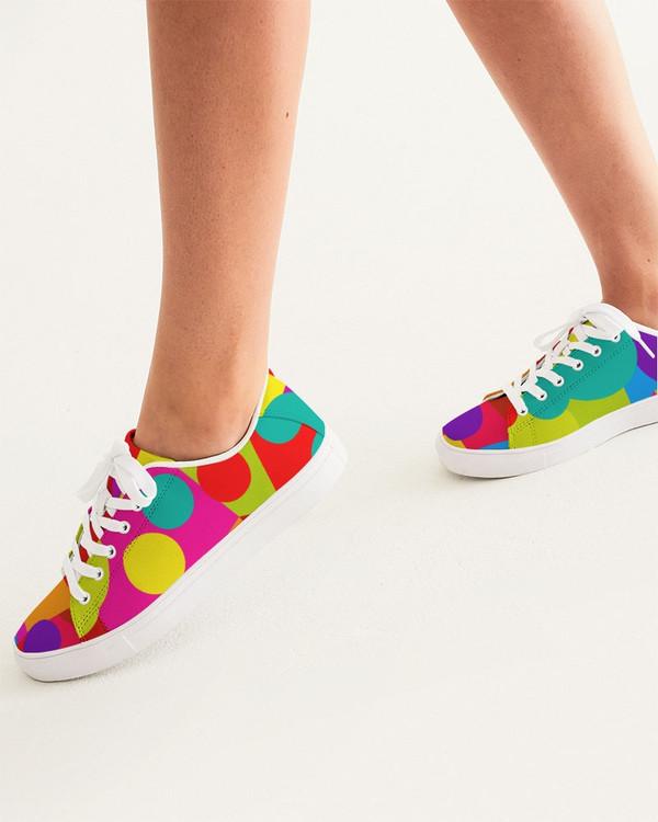Women's Circles  Lo-Top Sneakers
