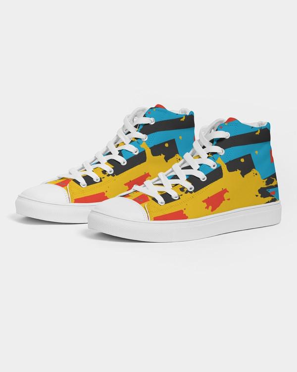 Women's Urban Hi-Top Canvas Sneakers