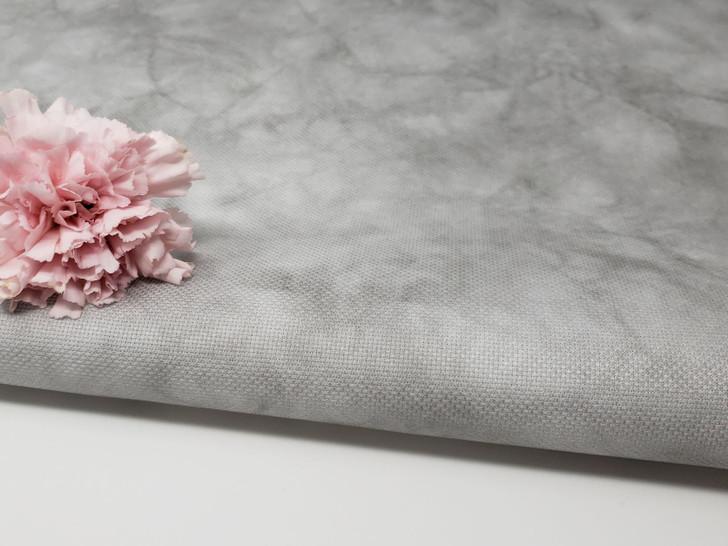 Fat Quarter Shop's Hazy Gray Cross Stitch Fabric