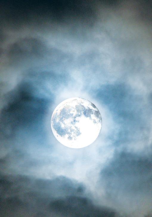 Stitchery XPress' Witches Sky with Moon Cross Stitch Fabric