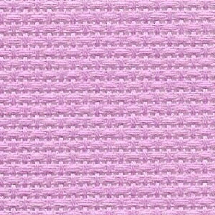 Azalea Pink - Solid Cross Stitch Fabric