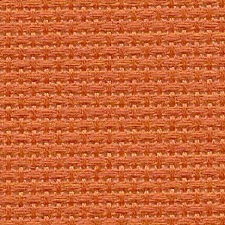 Pumpkin Pie - Solid Cross Stitch Fabric