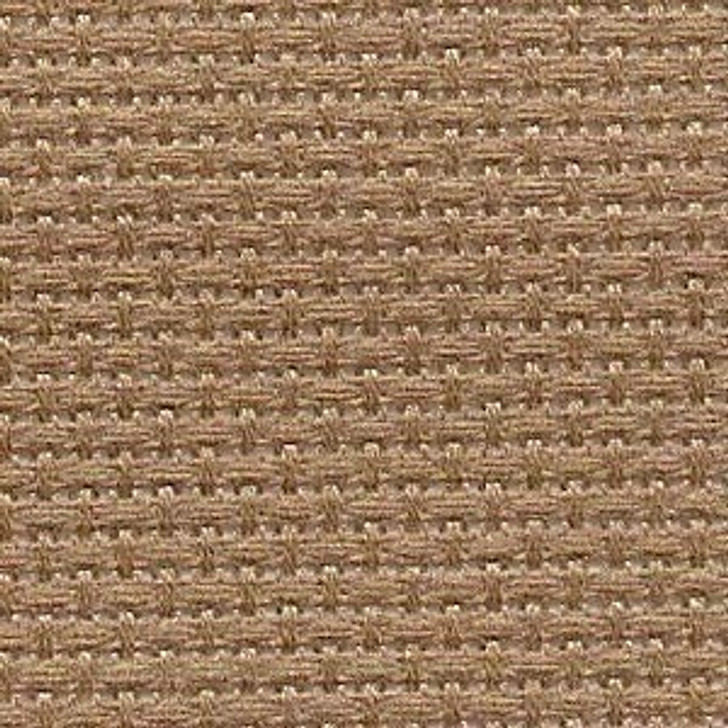 Taupe - Solid Cross Stitch Fabric