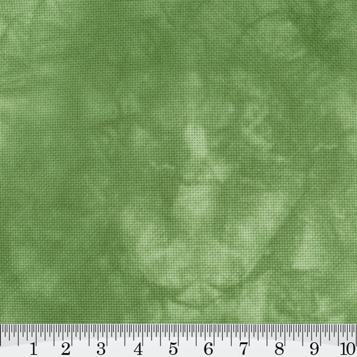 Olive - Hand Dyed Cross Stitch Fabric