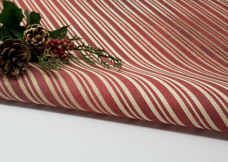 Red & Gold Christmas Stripes