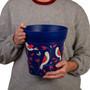 blue bird placement medium 22cm indoor/outdoor pot