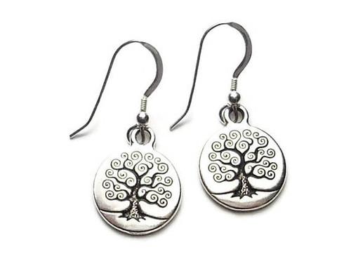 Tree of Life Dangle Earrings