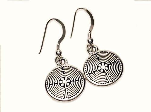 Labyrinth Dangle Earrings