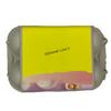 6-Egg iMagic Custom Carton Label - Sweet Treats bottom view with white background