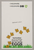 6-Egg iMagic Custom Carton Label - Duck Tracks
