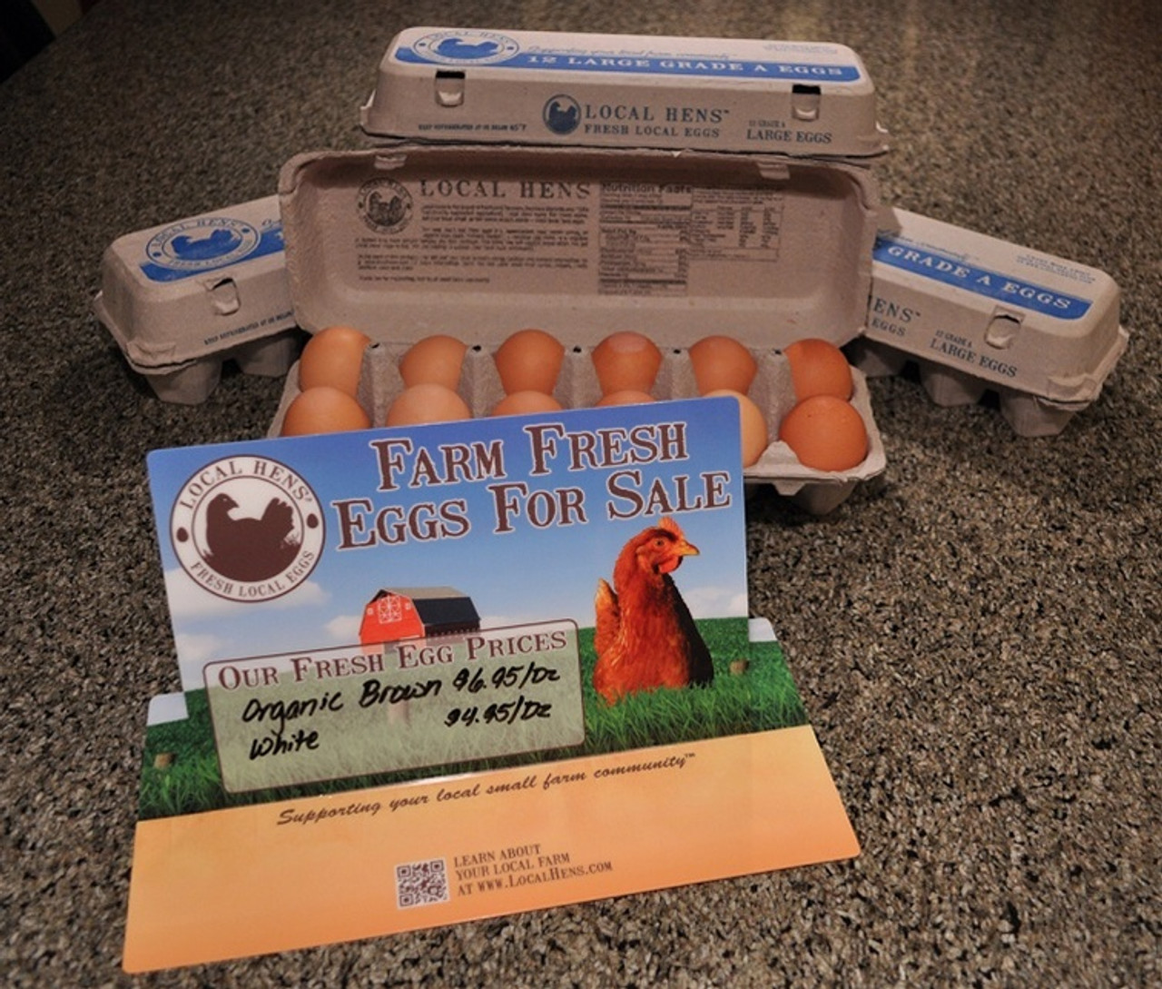 Local Hens Table Talker