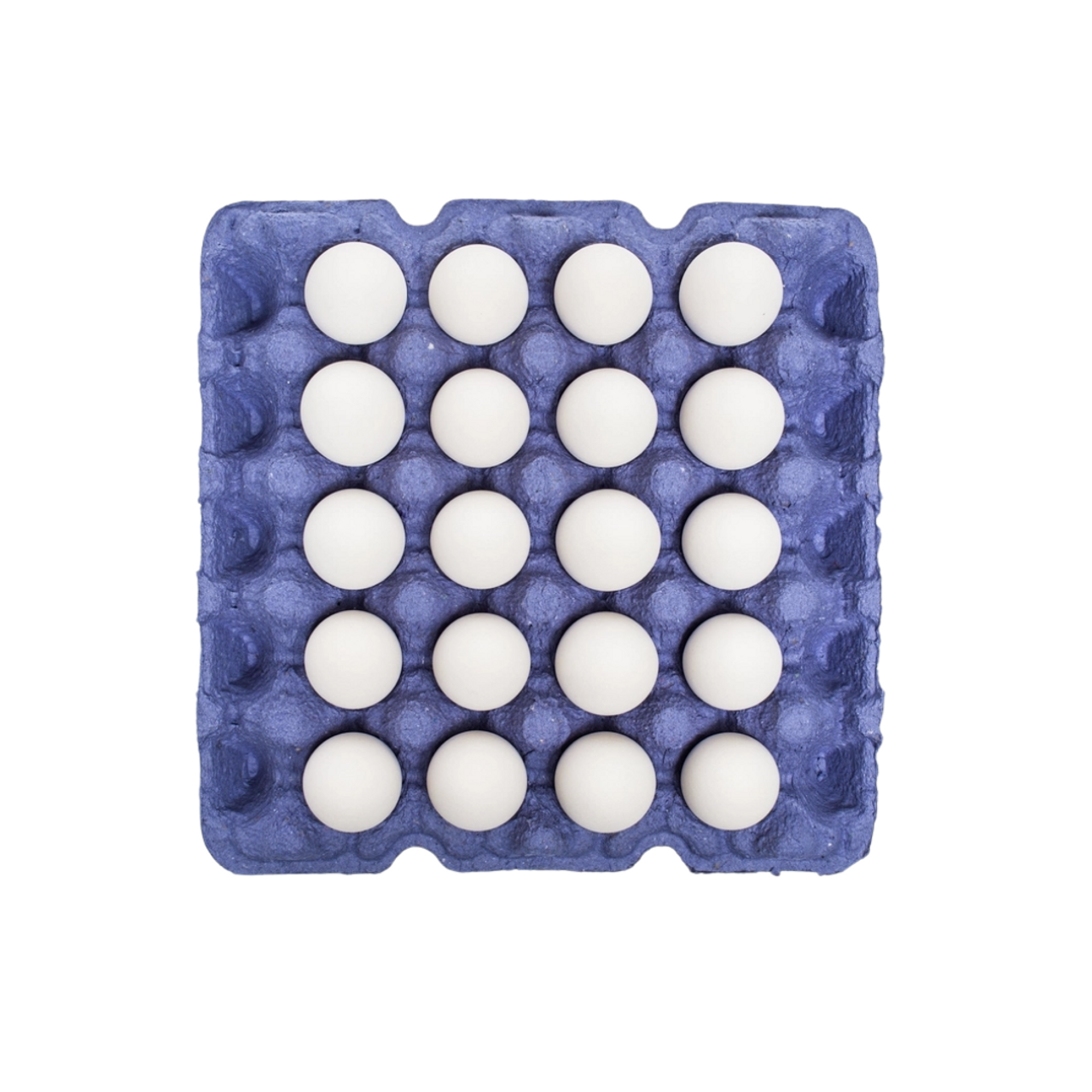 4x5 Recycled Paper Pulp Egg Tray Jumbo Cell