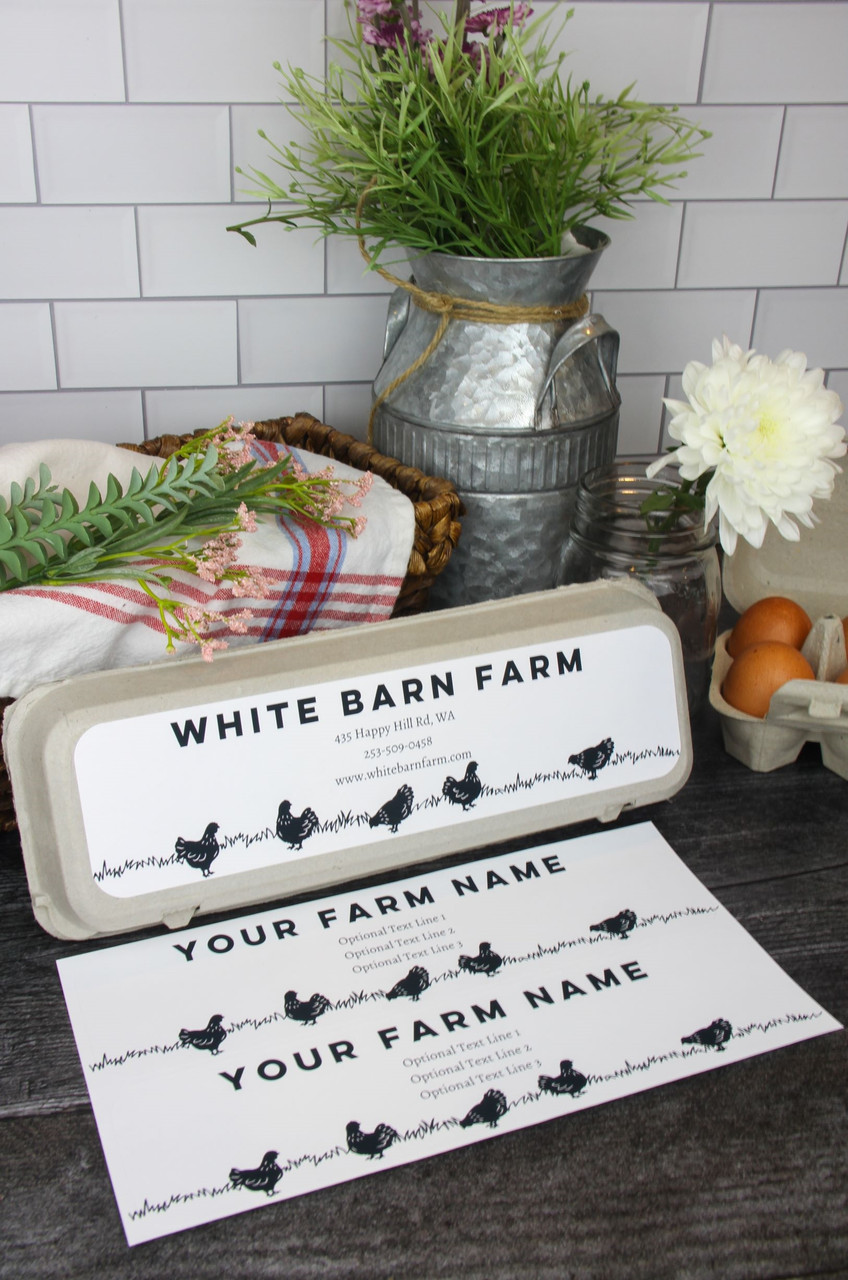 The Farmhouse Collection™: Full-Top Country Grazing Hens