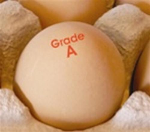 Egg Stamp - Text - Grade A
