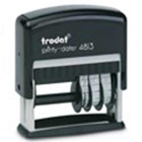 Self Inking 1 Line Date Stamp