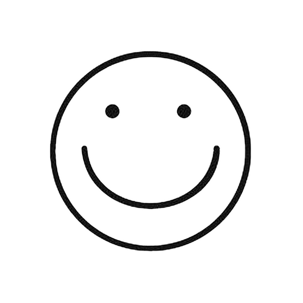 Egg Stamp - Smiley Face
