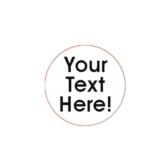 Your text here customizable egg stamp from the egg carton store
