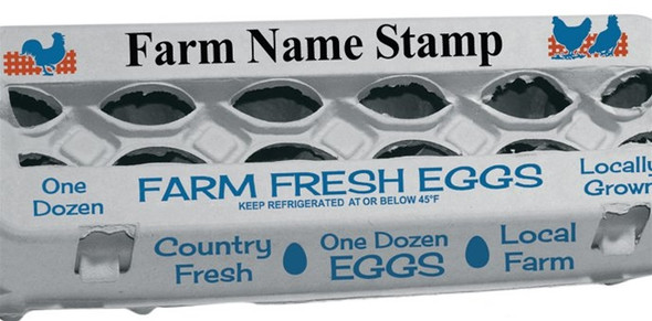 Custom Stamp for your farm name