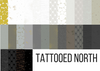 Tattooed North Full bundle, pre-sale, available from Purple Stitches, North Hampshire, UK