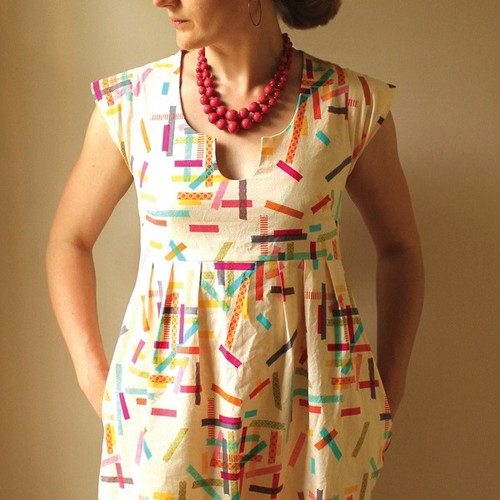 Washi Dress - Made by Rae Sewing Patterns