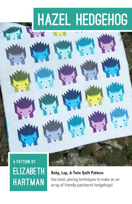 Hazel Hedgehog - Elizabeth Hartman - Quilt Pattern