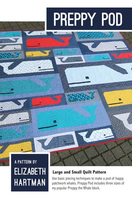 Preppy Pod - Elizabeth Hartman - Quilt Pattern