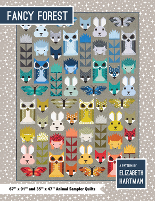 Fancy Forest - Elizabeth Hartman - Quilt Pattern