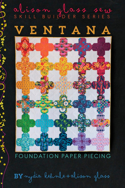 Ventana Quilt - Nydia Kehnle - Alison Glass Quilt Pattern