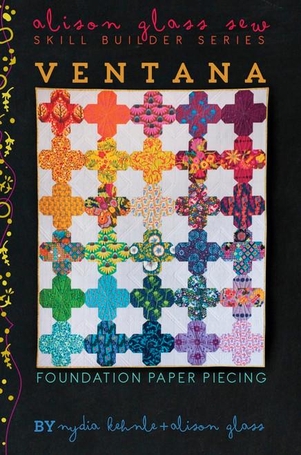 Ventana Quilt - Nydia Kehnle - Alison Glass Quilt Pattern