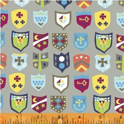 Royal Crest in Grey - Meet the Royal Court - NEW