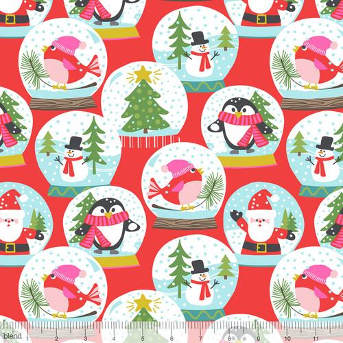 Christmas Caroler Red - Even a Mouse - Maude Asbury - Blend