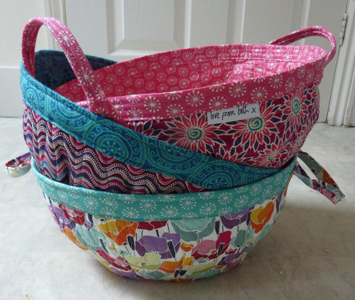 Project Basket - Beth Studley - Paper Pattern