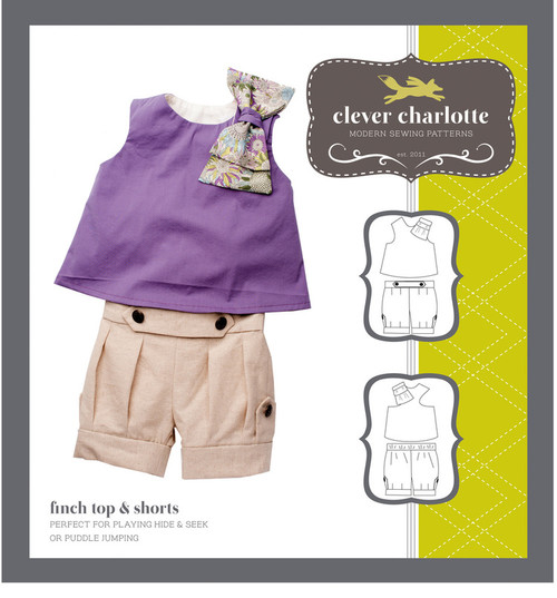 Finch Top & Shorts (2 - 8 years) - Clever Charlotte