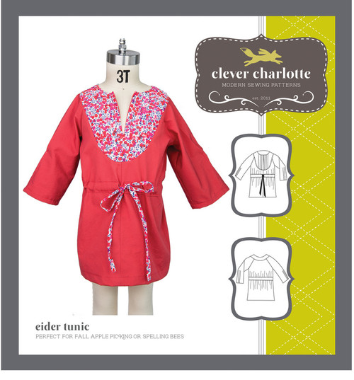 Eider Tunic (2 - 8 years) - Clever Charlotte
