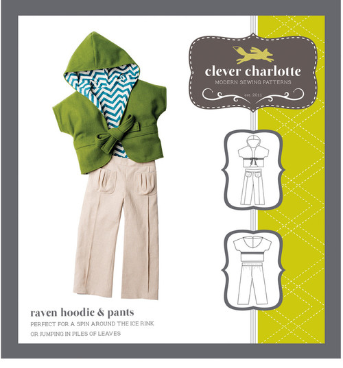 Raven Hoodie & Pants (2 - 8 years) - Clever Charlotte