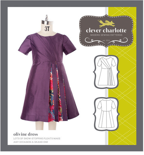 Olivine Dress (2 - 8 years) - Clever Charlotte