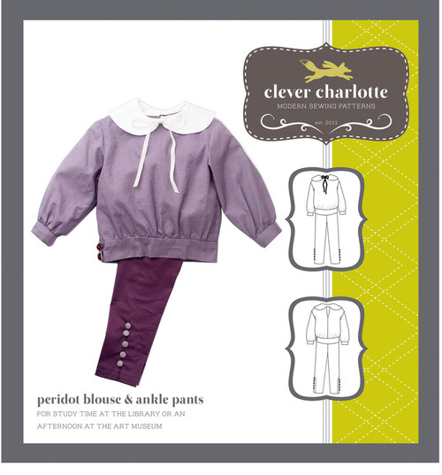 Peridot Blouse & Ankle Pants (2 - 8 years) - Clever Charlotte