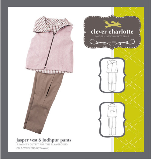 Jasper Vest & Jodhpur Pants (2 - 8 years) - Clever Charlotte